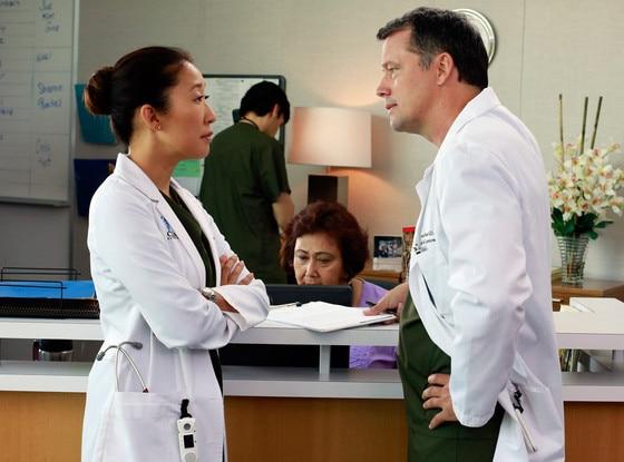 Sandra Oh, Steven Culp, Grey's Anatomy