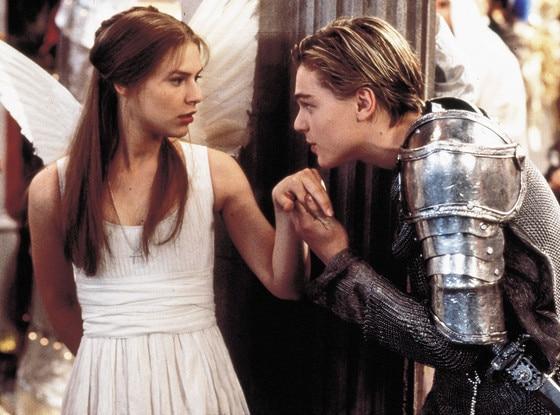 Claire Danes, Leonardo DiCaprio, Romeo and Juliet