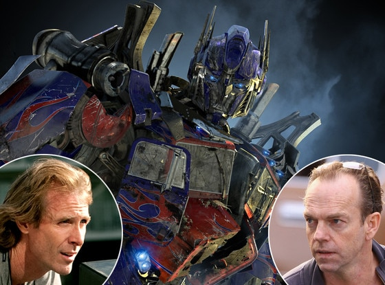 Michael Bay, Hugo Weaving, Transformers