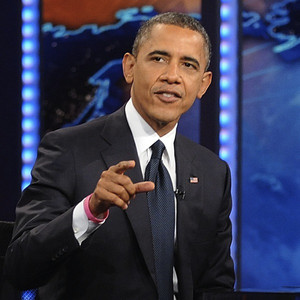 Barack Obama, Jon Stewart, The Daily Show