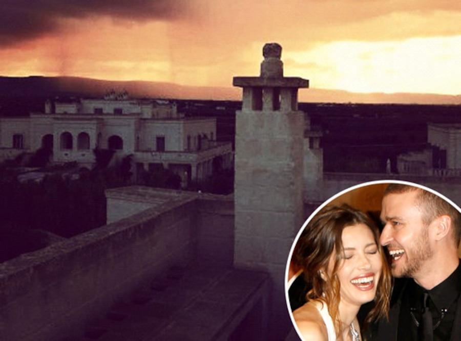Justin Timberlake, Jessica Biel, Wedding, Italy