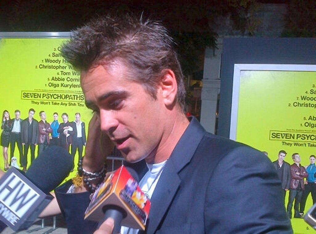 Colin Farrell, Twit Pic
