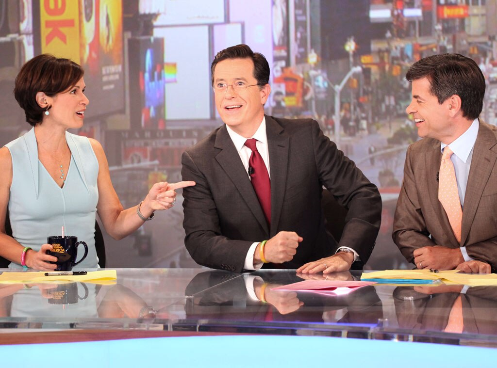 Stephen Colbert, Good Morning America