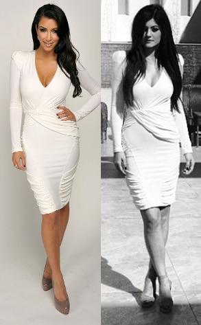 Kim Kardashian, Kylie Jenner, Instagram