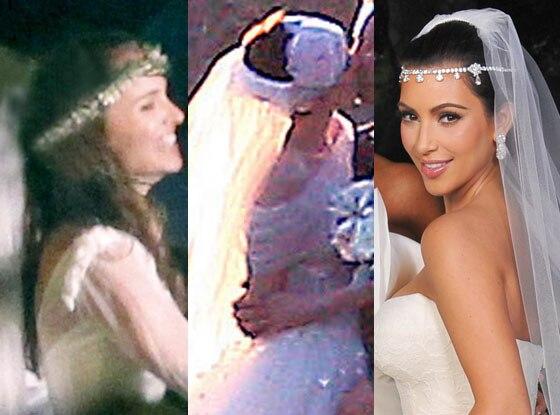 Wedding Headpieces, Kim Kardashian, Anne Hathaway, Natalie Portman
