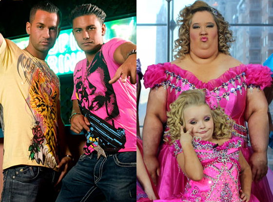 The Situation, Pauly D, Jersey Shore, Honey Boo Boo