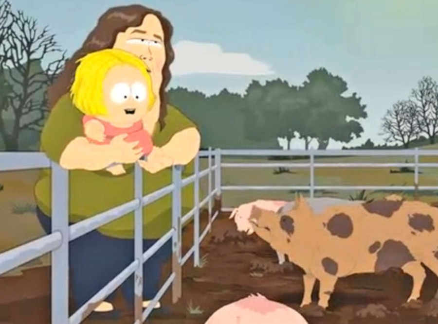 Honey Boo Boo, South Park
