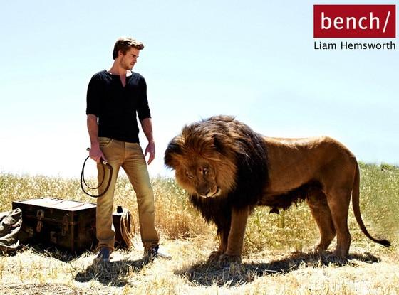 Liam Hemsworth, Bench Ad Campaign