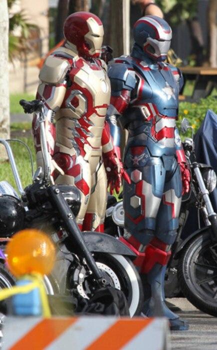 Robert Downey Jr., Iron Man suits
