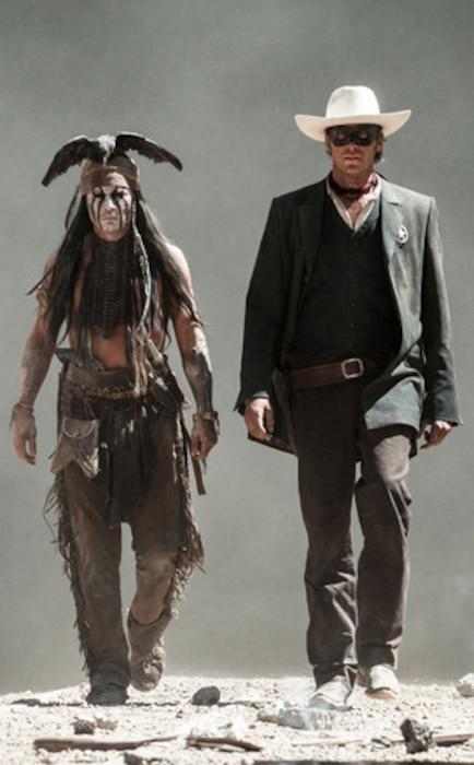 Johnny Depp, Armie Hammer, The Lone Ranger