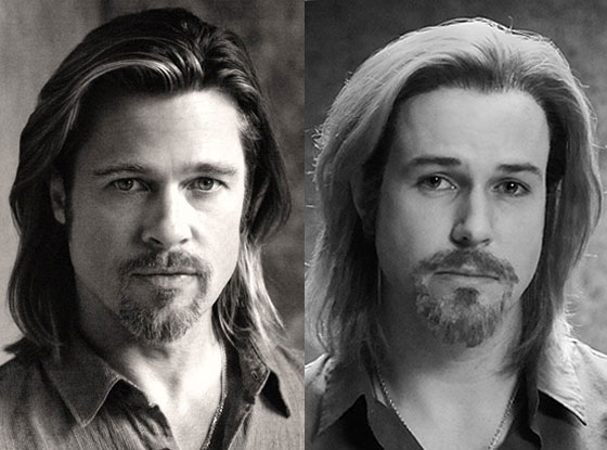 Brad Pitt, Chanel, Taran Killam, SNL