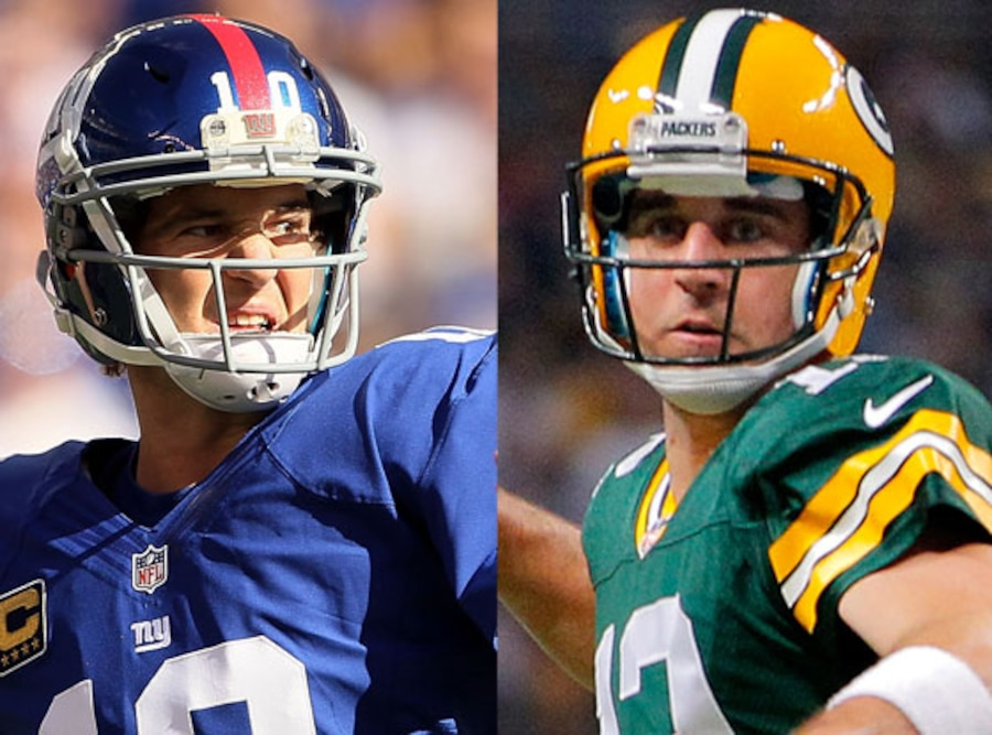 Eli Manning, Aaron Rodgers