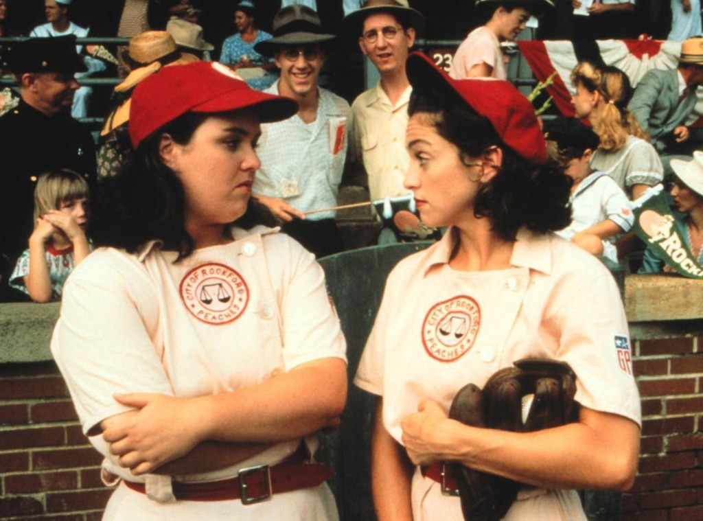Madonna, Rosie O'Donnell, A League Of Their Own