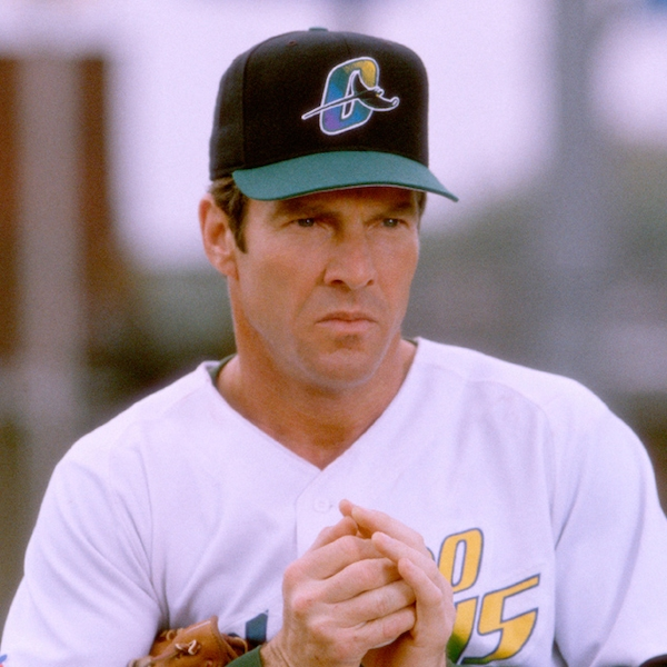 Dennis Quaid In The Rookie From Celebrity Baseball All