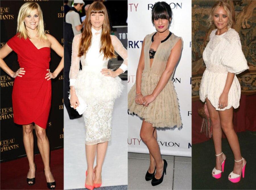 Giambattista Valli: Reese Witherspoon, Jessica Biel, Lea Michele, Mary-Kate Olsen