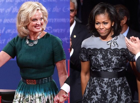 Ann Romney, Michelle Obama