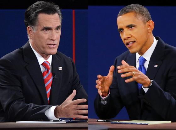 Mitt Romney, President Barack Obama