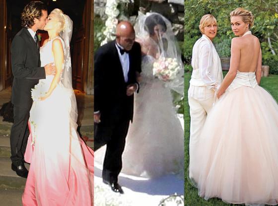 Gwen Stefani, Gavin Rossdale, Jenna Dewan, Ellen DeGeneres, Portia De Rossi, Wedding