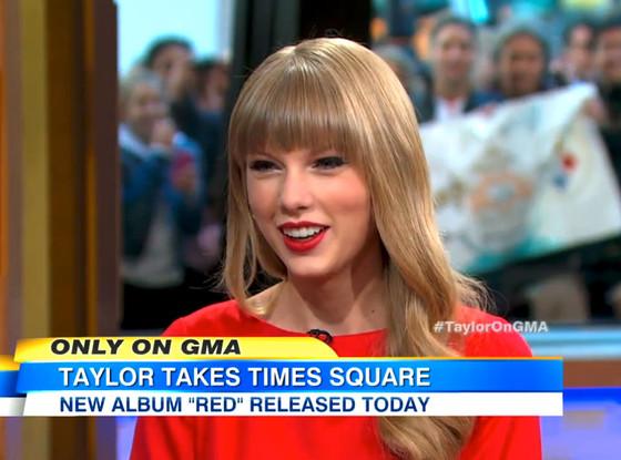 Taylor Swift, Good Morning America