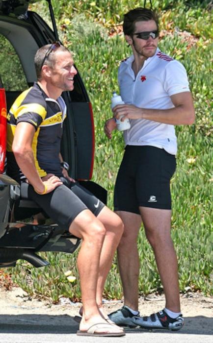 Jake Gyllenhaal, Lance Armstrong