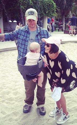Jack Osbourne, Lisa Osbourne, baby Pearl