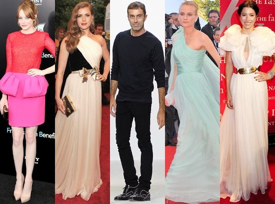 Emma Stone, Amy Adams, Giambattista Valli, Diane Kruger, Jessica Biel
