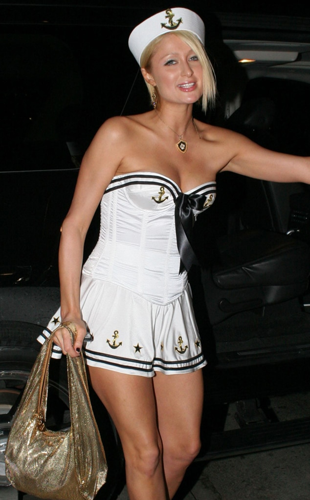 Paris Hilton, Celeb Halloween Game