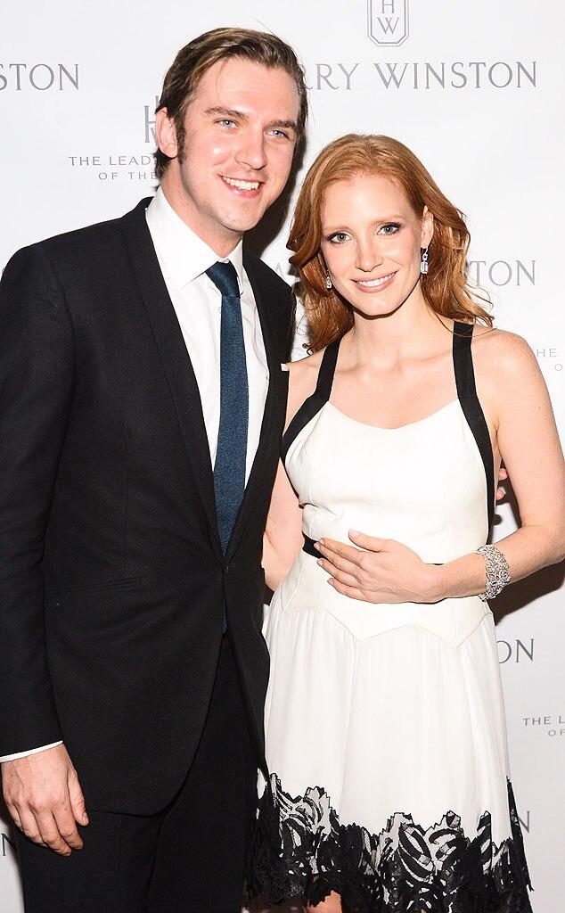 Dan Stevens, Jessica Chastain