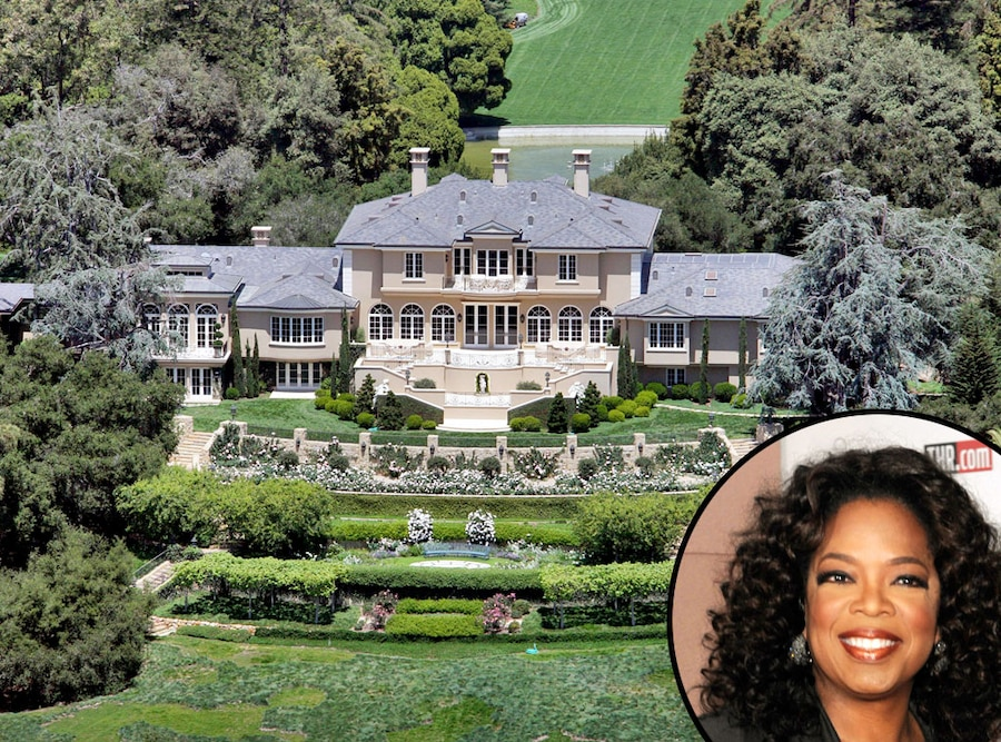 Oprah Winfreys Montecito Home, Celeb Homes