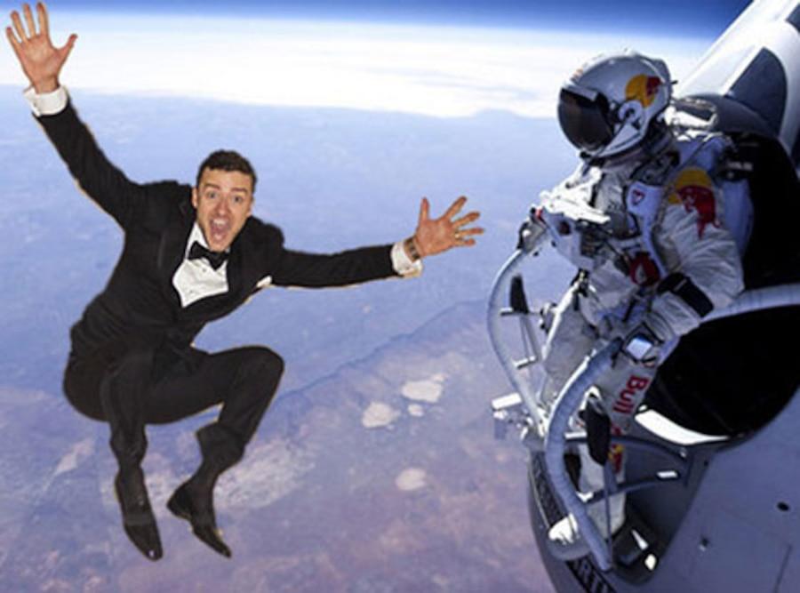 Jumping Justin Timberlake