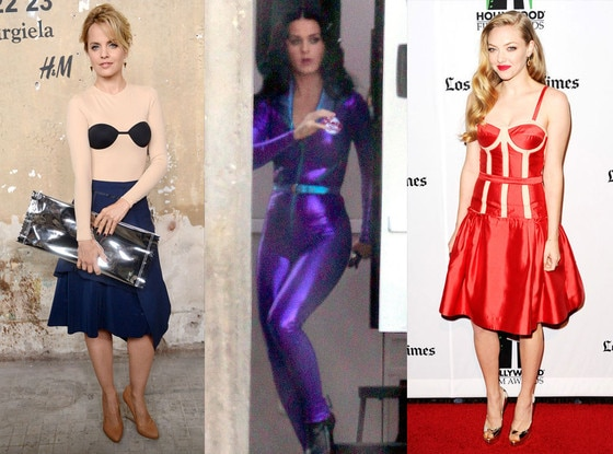 Mena Survari, Katy Perry, Amanda Seyfried