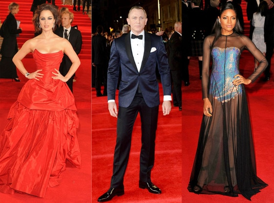 Daniel Craig, Naomie Harris, Beronice Marlohe