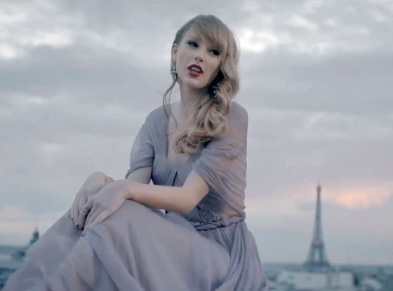 Taylor Swift, Begin Again Video