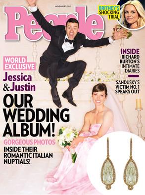 Justin Timberlake, Jessica Biel, People Magazine, Earrings