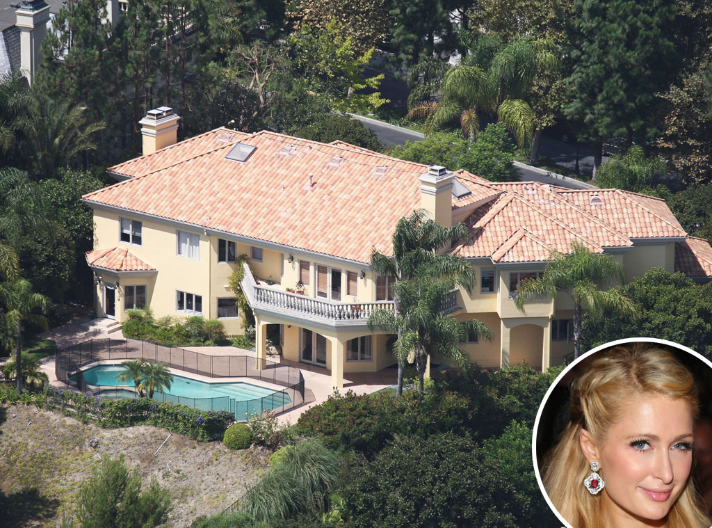 Paris Hilton's Beverly Hills home