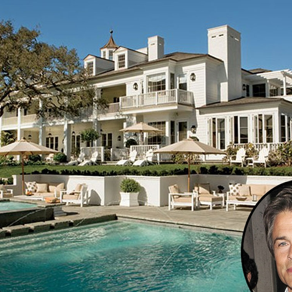 Olympic Size Swimming Pools With Mansions: Rob Lowe From Celebrity Mega Mansions