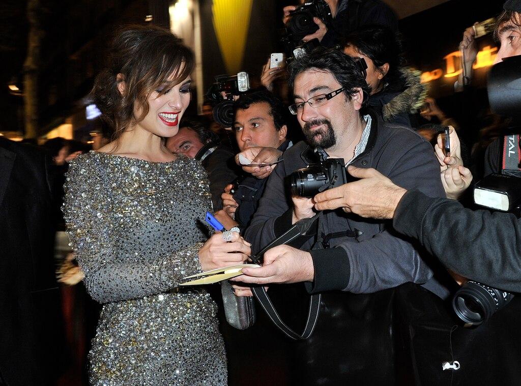 Berenice Marlohe, Skyfall Paris Premiere