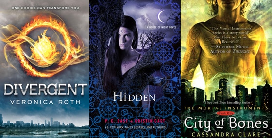 City of Bones, Divergent, Hidden