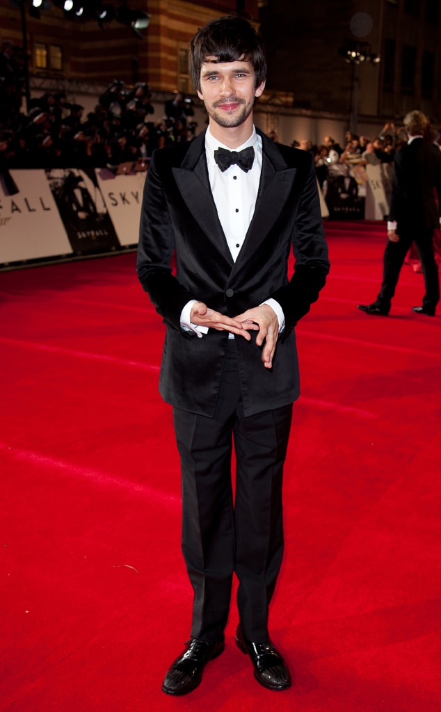 Ben Whishaw, Skyfall, London Premiere
