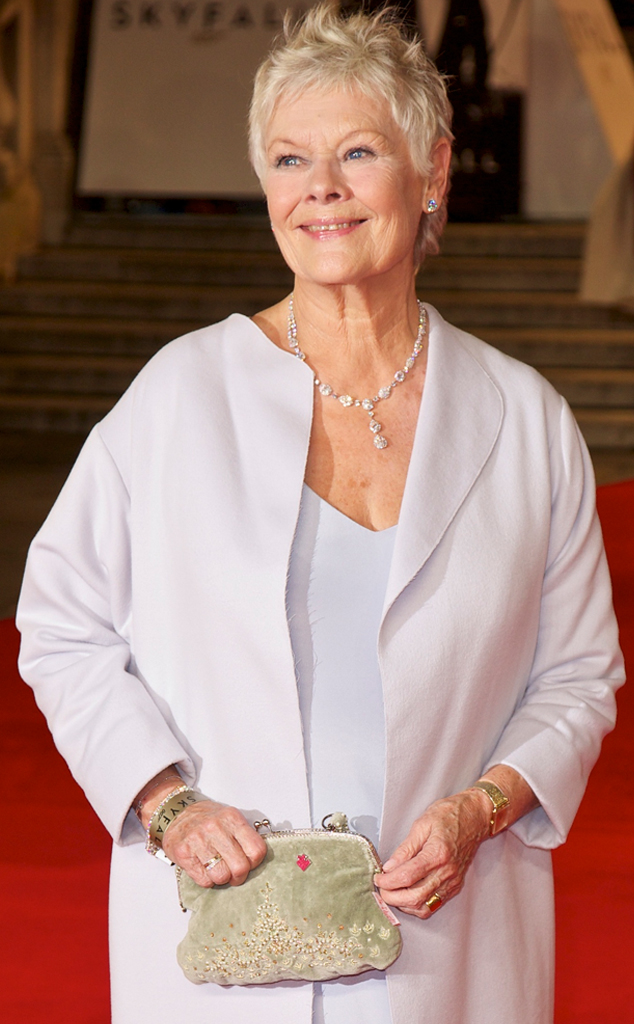 Judi Dench, Skyfall, London Premiere
