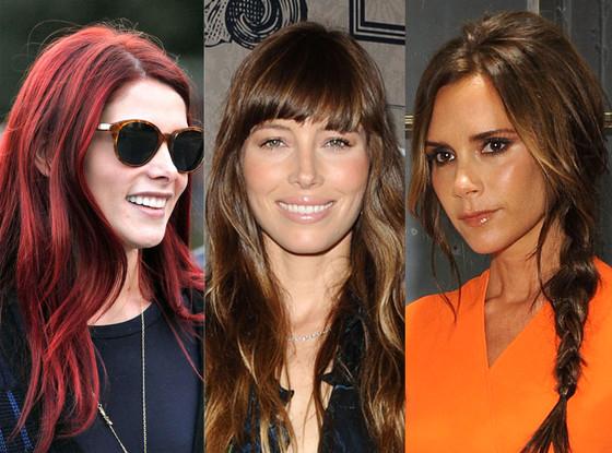 Ashely Greene, Jessica Biel, Victoria Beckham