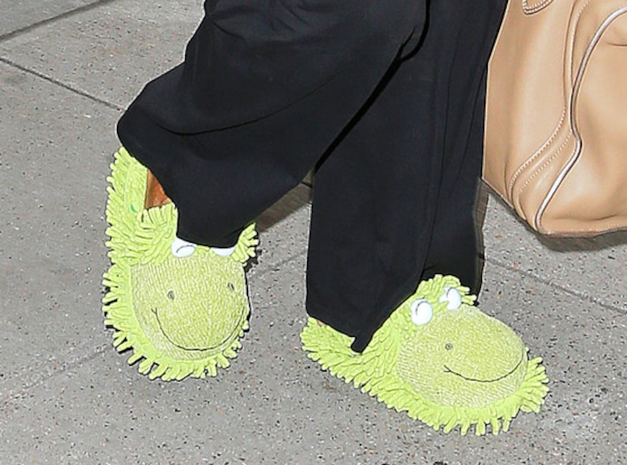 Froggy Slippers