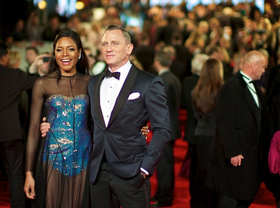 Naomie Harris, Daniel Craig, Skyfall, London Premiere