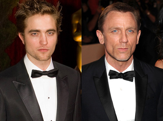 Robert Pattinson, Daniel Craig
