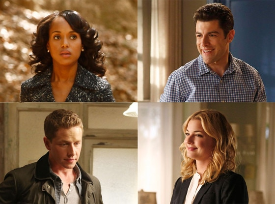 Emily VanCamp, Revenge, Max Greenfield, New Girl, Kerry Washington, Scandal, Josh Dallas, Once Upon a Time