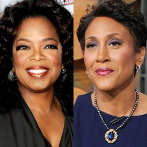 Oprah Winfrey, Robin Roberts