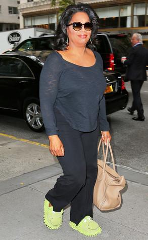 Oprah Winfrey, Froggy Slippers