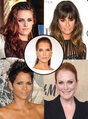 Brooke Shields, Halle Berry, Julianne Moore, Kristen Stewart, Lea Michele