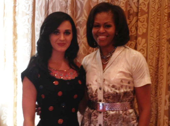Katy Perry, Michelle Obama