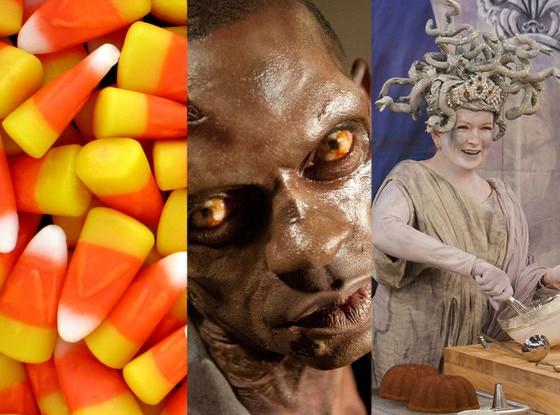 Candy corn, The Walking Dead, The Martha Stewart Show